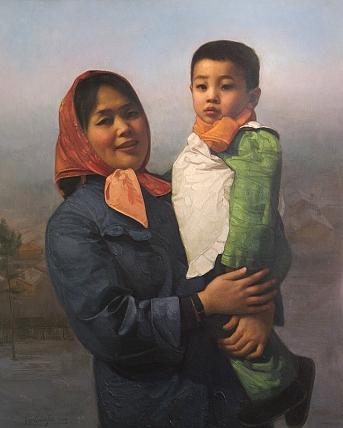 辽宁省美术家协会 陈常海   具有珍藏升值空间   作品表面有正常的颜料龟裂细纹