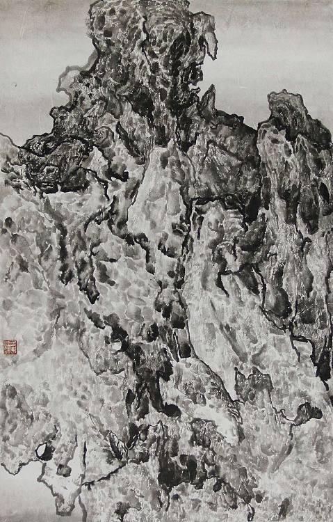 中央美术学院 苏军 山水