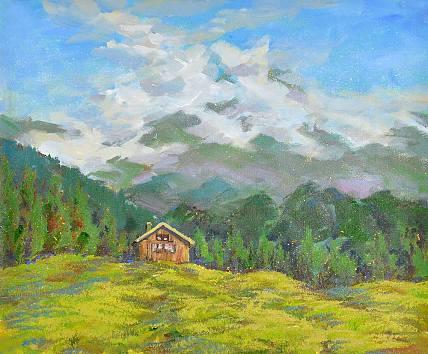 中国美院青年油画家 潘融融 油画作品