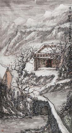 中国美术家协会会员 张建武 山水作品