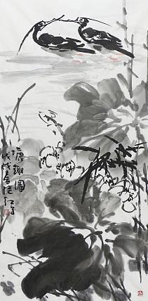 中国美术家协会会员 刘继红 塘趣图