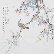中国人民大学哲学美学博士 刘阔 精品花鸟