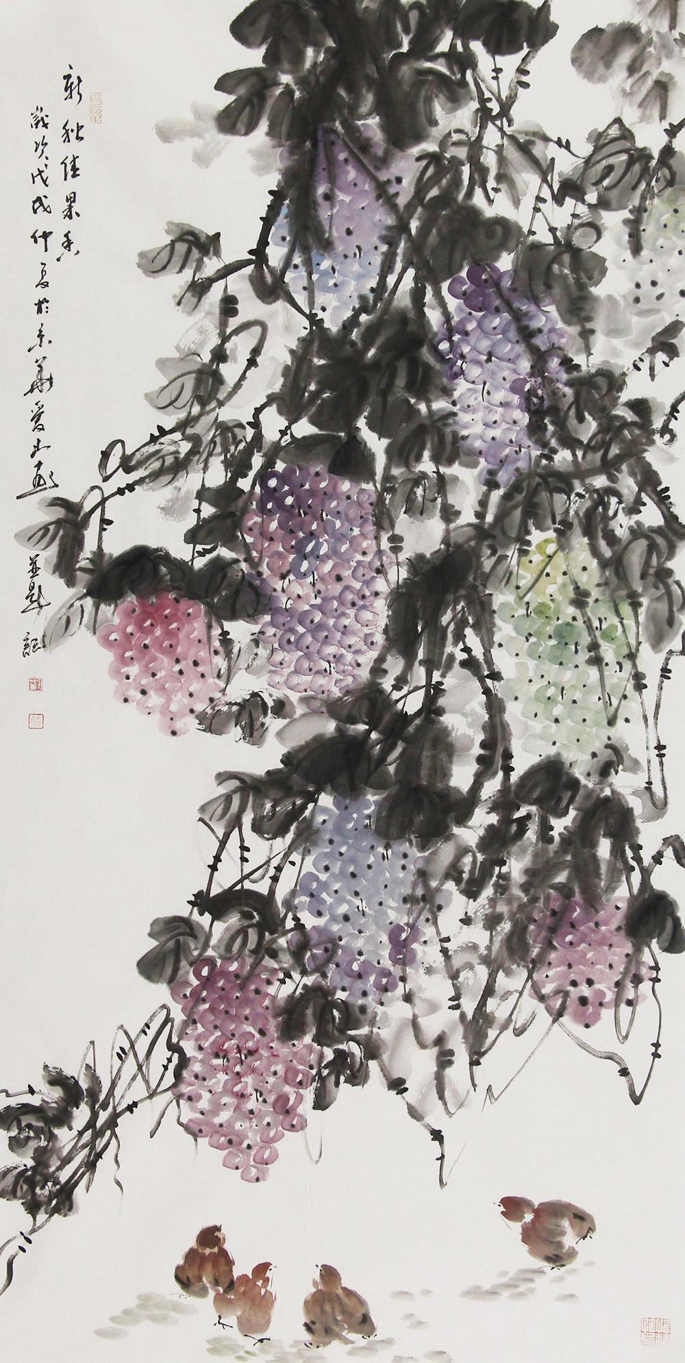中国地图辽宁水彩手绘
