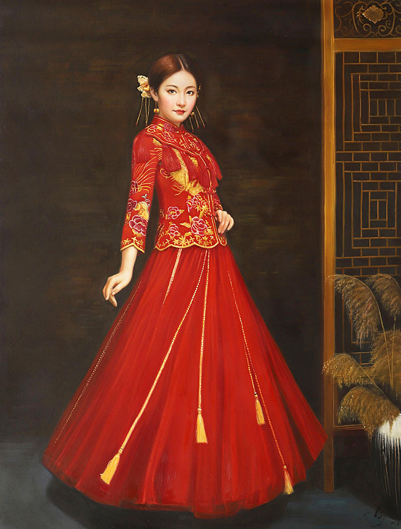 北京东方油画创作院副院长 陈一茗 创作人物写实油画