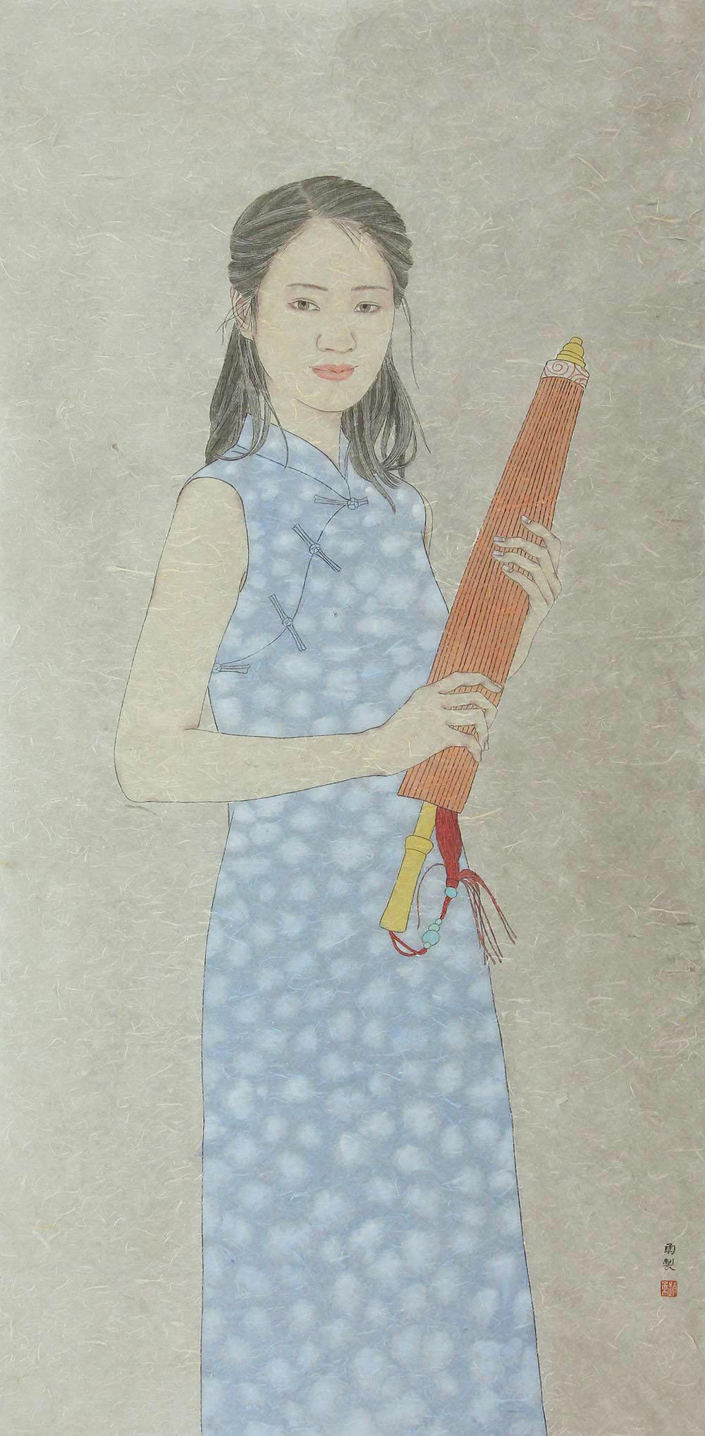赵勇人物画作品赏析 | 传统与现代的碰撞,古典与时尚的融合【博宝