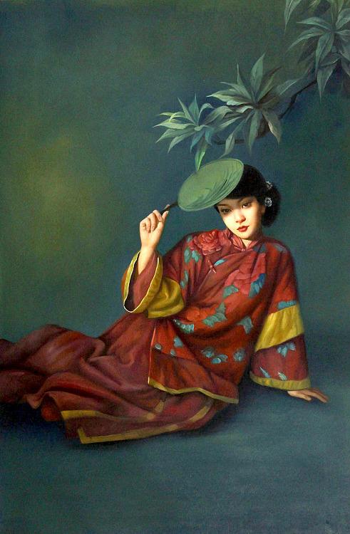 湖南师大美术学院孙振宇 创作油画 升值潜力年轻艺术家 手绘精品油画