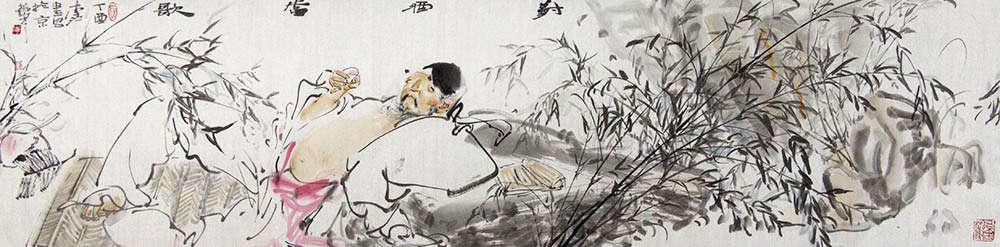 中央美术学院教师 李江 对酒当歌