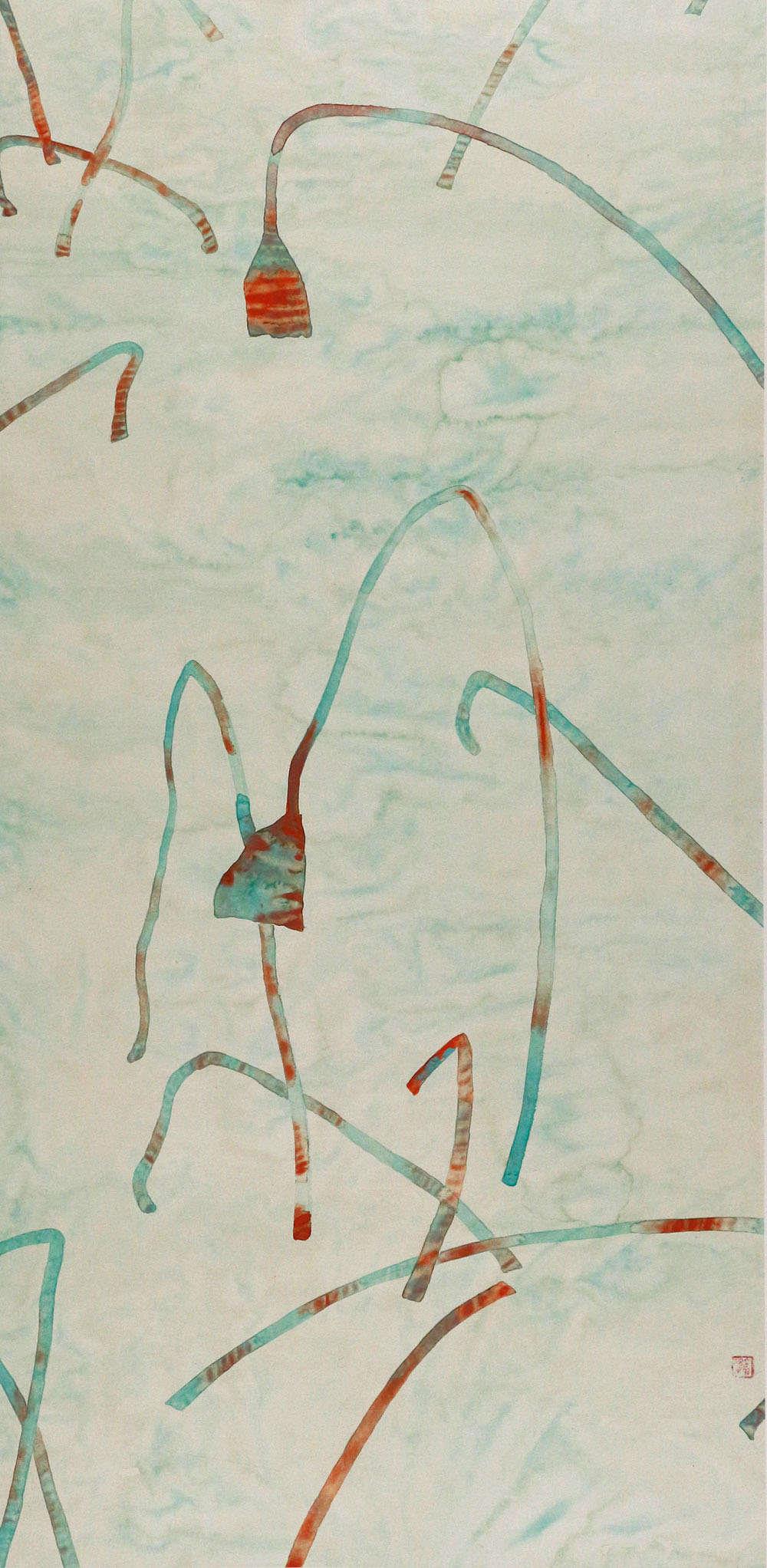 中国美术家协会会员 中央美术学院版画系教授 刘丽萍 花鸟 国画