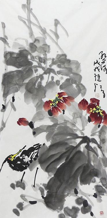 中国美术家协会会员 刘继红 碧荷