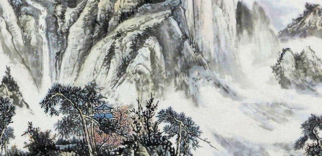 国家一级美术师 黄雪宏 梦里云山
