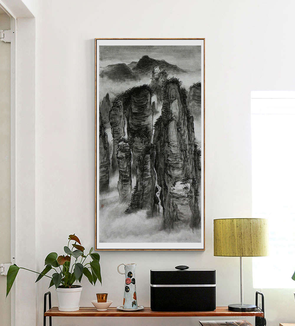 中央美术学院 苏军 山水 国画