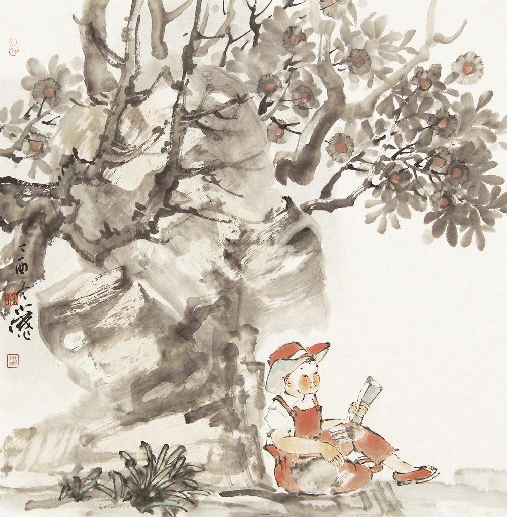 中国美协会员 李小成 展览作品