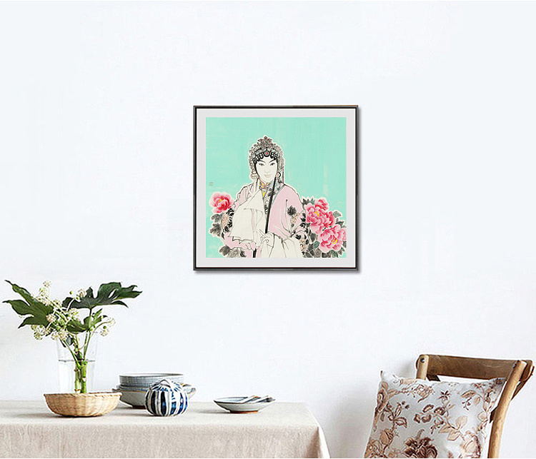 佳木斯大学美术学院 副教授 硕士研究生导师 徐辉 人物 国画