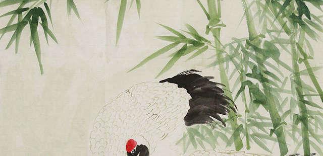 中国美术家协会会员 詹黎明 花鸟