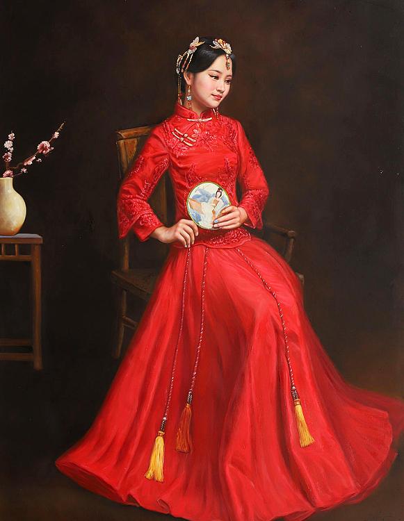 北京东方油画创作院副院长 陈一茗 油画