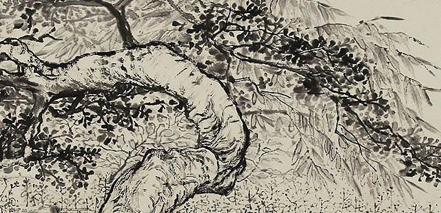 中央美术学院 苏军 山水精品 国画