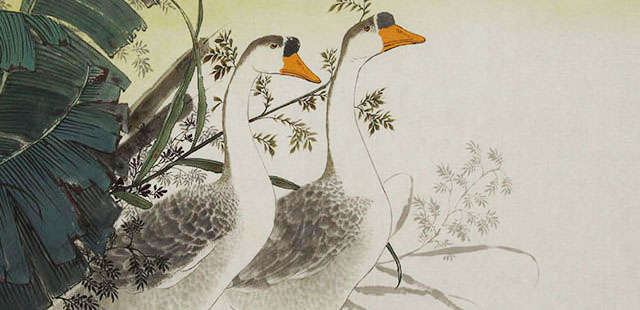中国美术家协会会员 陈敬友 花鸟