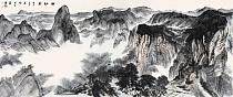 中美协会员,中国人民大学画院导师潘建博