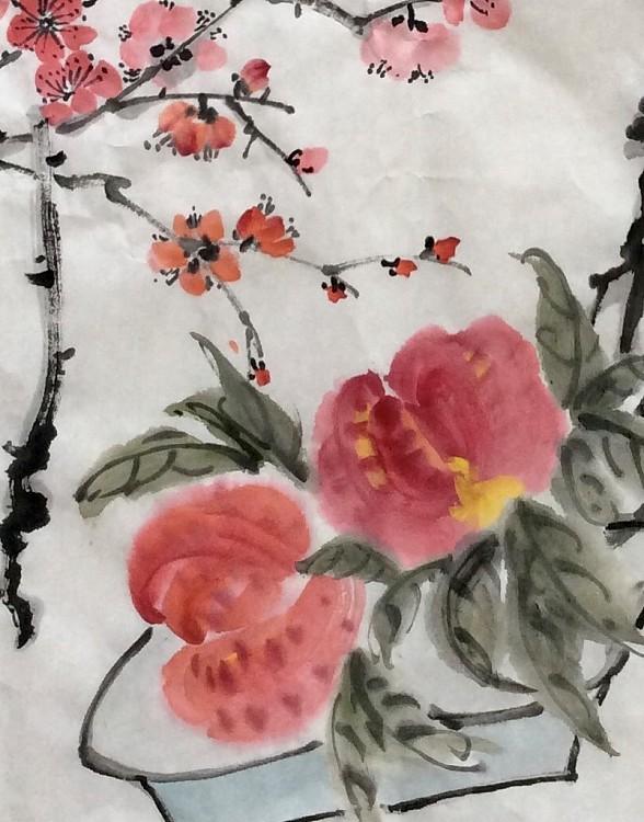中国美术家协会会员 孝感市美协副主席 黄明珠