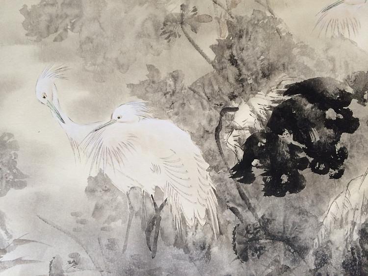 河南美协会员 许国营 秋露 国画作品