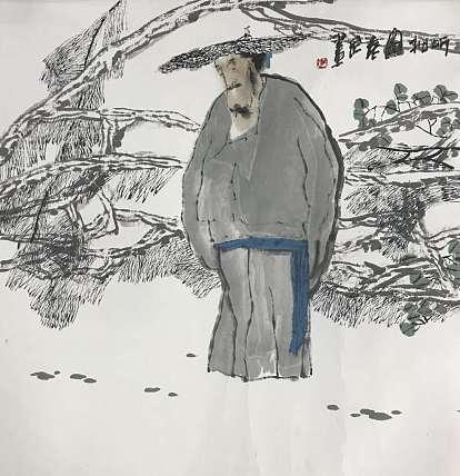 北京画院执行院长 袁武 有证书