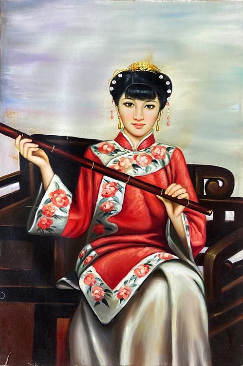 黄伟能 油画 H27