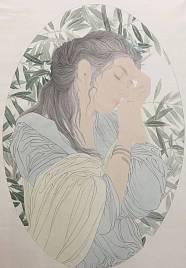 北京画院画家 王冠军《flora系列》