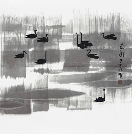 中美协会员、国家一级美术师 张兆明《家园》