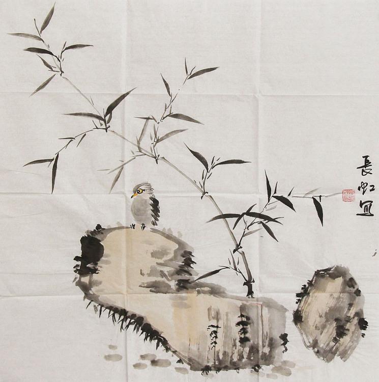 中国国画家协会理事 著名艺术家 谢长虹 花鸟画作品